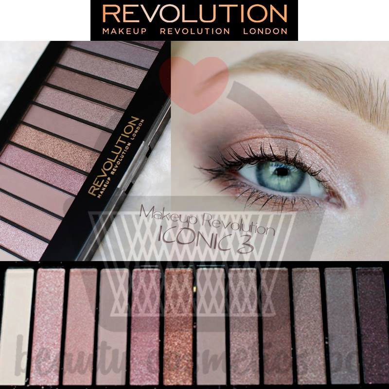 Makeup Revolution Redemption Palette Iconic 3.